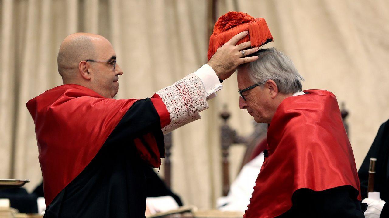 Puigdemont arremete de nuevo contra la UE en una manifestación en Bruselas.Partidario de la independencia de Escocia durante un acto electoral a favor del sí en el referendum del 2014