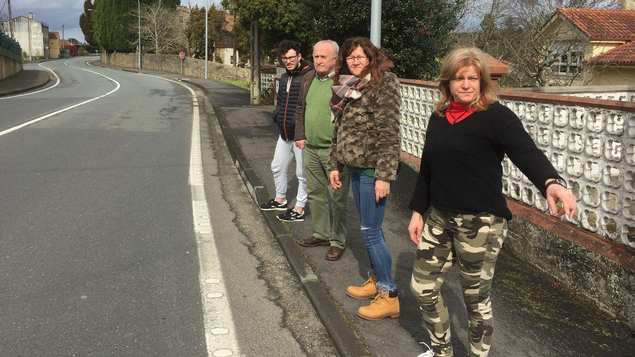 El paso del Félix en la comarca coruñesa