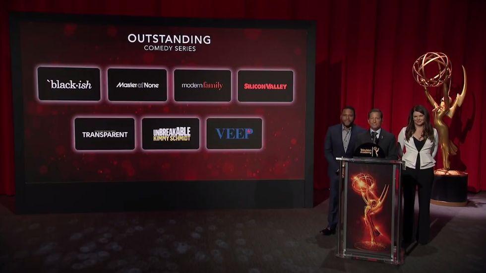 Los premios Emmy, en imágenes.Los actores de «Juego de Tronos» celebran su triunfo en los Emmy