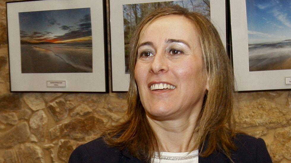 Ethel Vázquez. Conselleira de Infraestruturas e Vivenda