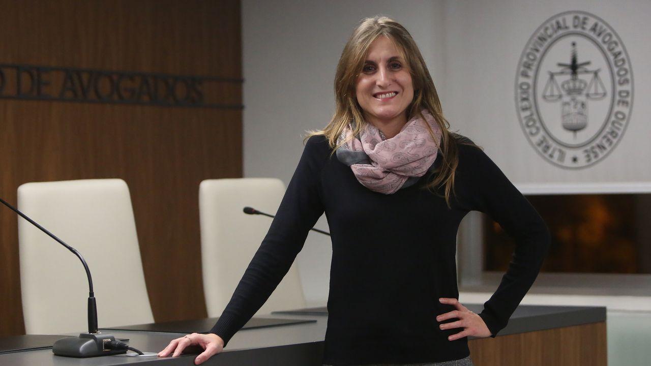 Ferrol corre y camina contra la violencia de género.Yerma González