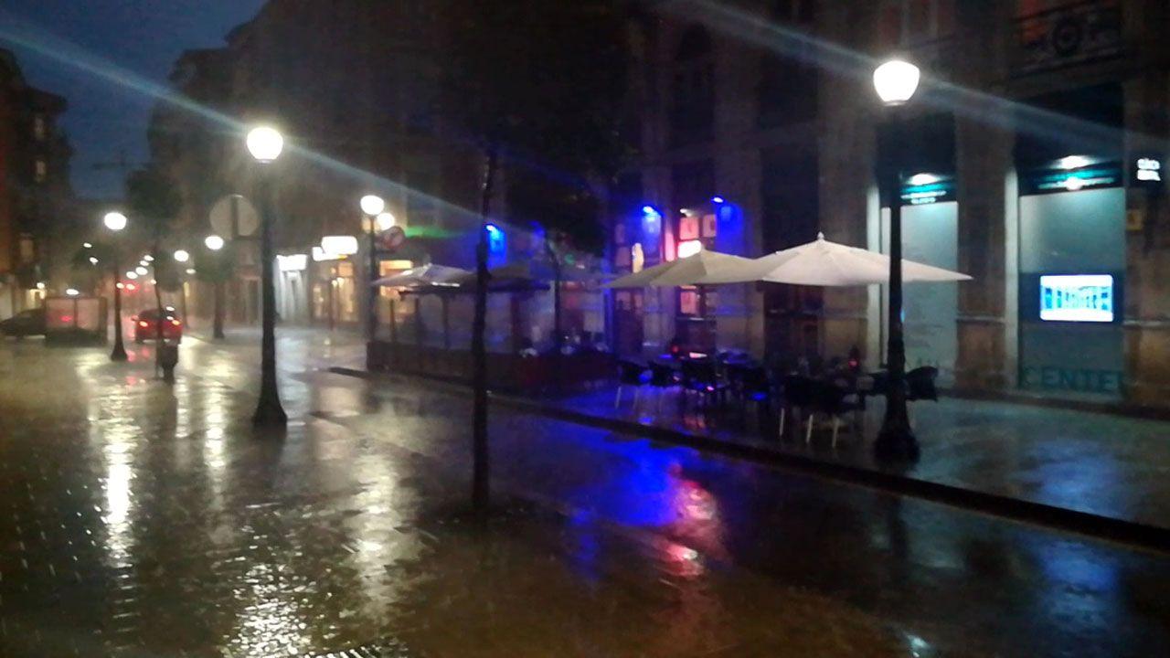 .Lluvia en Gijón