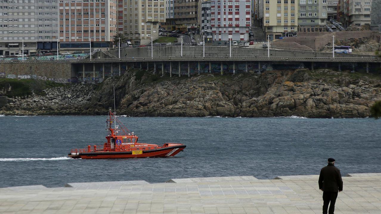 En marzo tuvo lugar una nueva tragedia en el Orzán en A Coruña. Un golpe de mar se llevó a Andrea Domíngez, una joven ourensana de 22 años que se encontraba en la ciudad para disfrutar de un concierto.