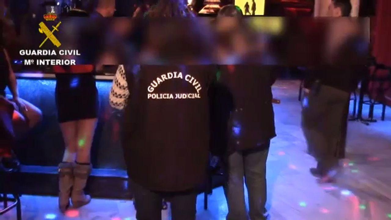 Club Delphos.Los miembros del clan juzgado. / EUROPA PRESS