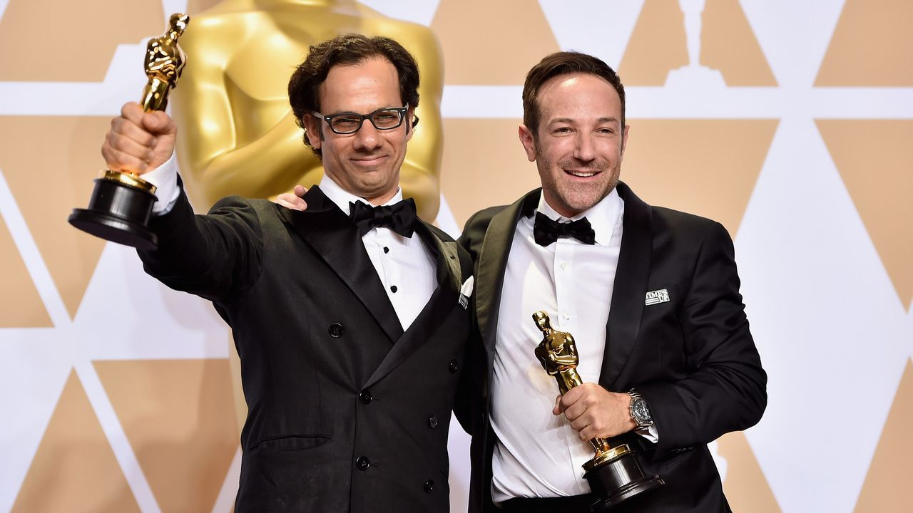 mejor documental para «Icarus», de Bryan Fogel y  Dan Cogan