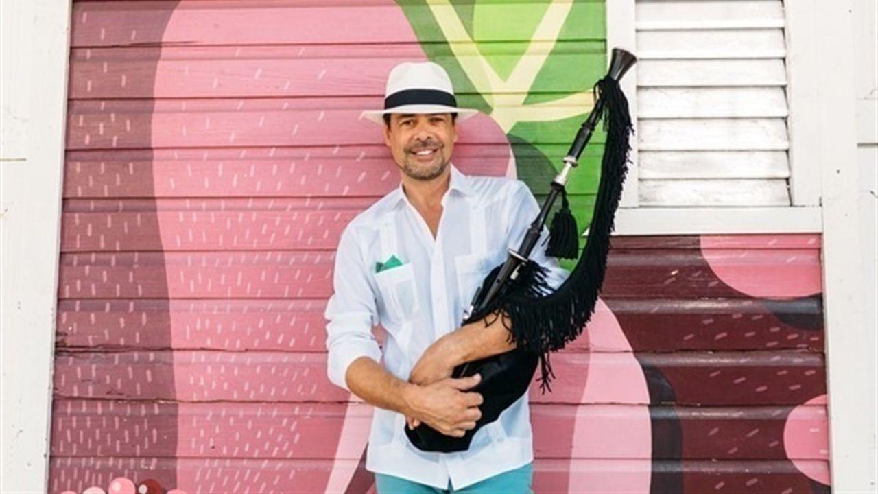 .El músico asturiano José Ángel Hevia