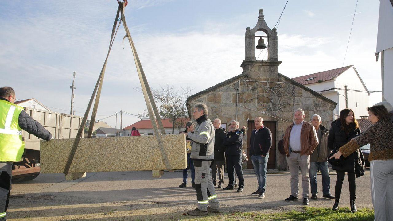 Conflicto vecinal en Vilanova por unos maceteros