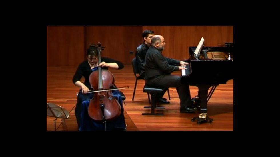 Un concierto de piano de Miguel Ángel Ortega Chavaldas.Carlos J. González (Merenzao)