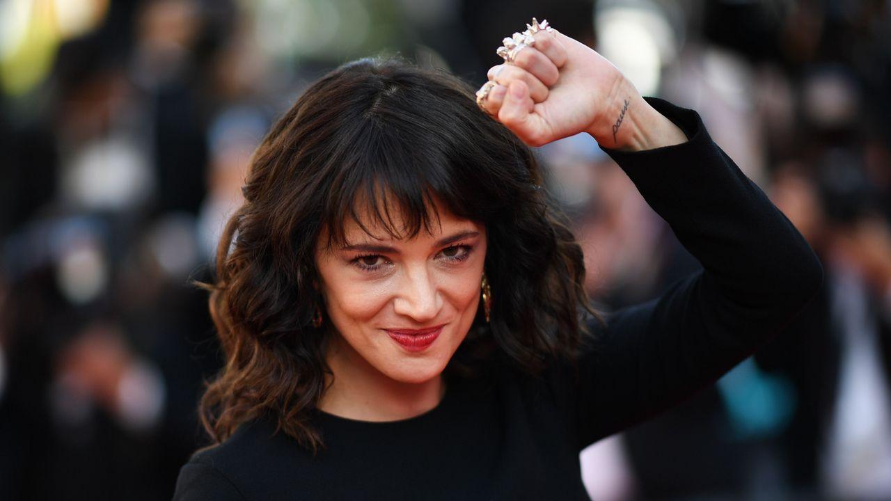 La actriz italiana Asia Argento