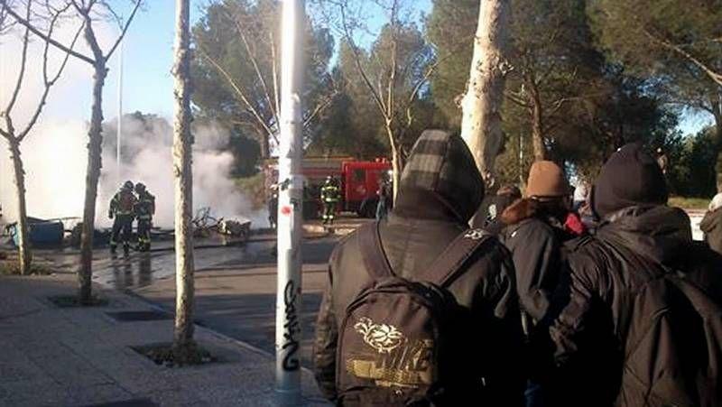 Los estudiantes salen a la calle en Madrid para protestar en contra de la LOMCE