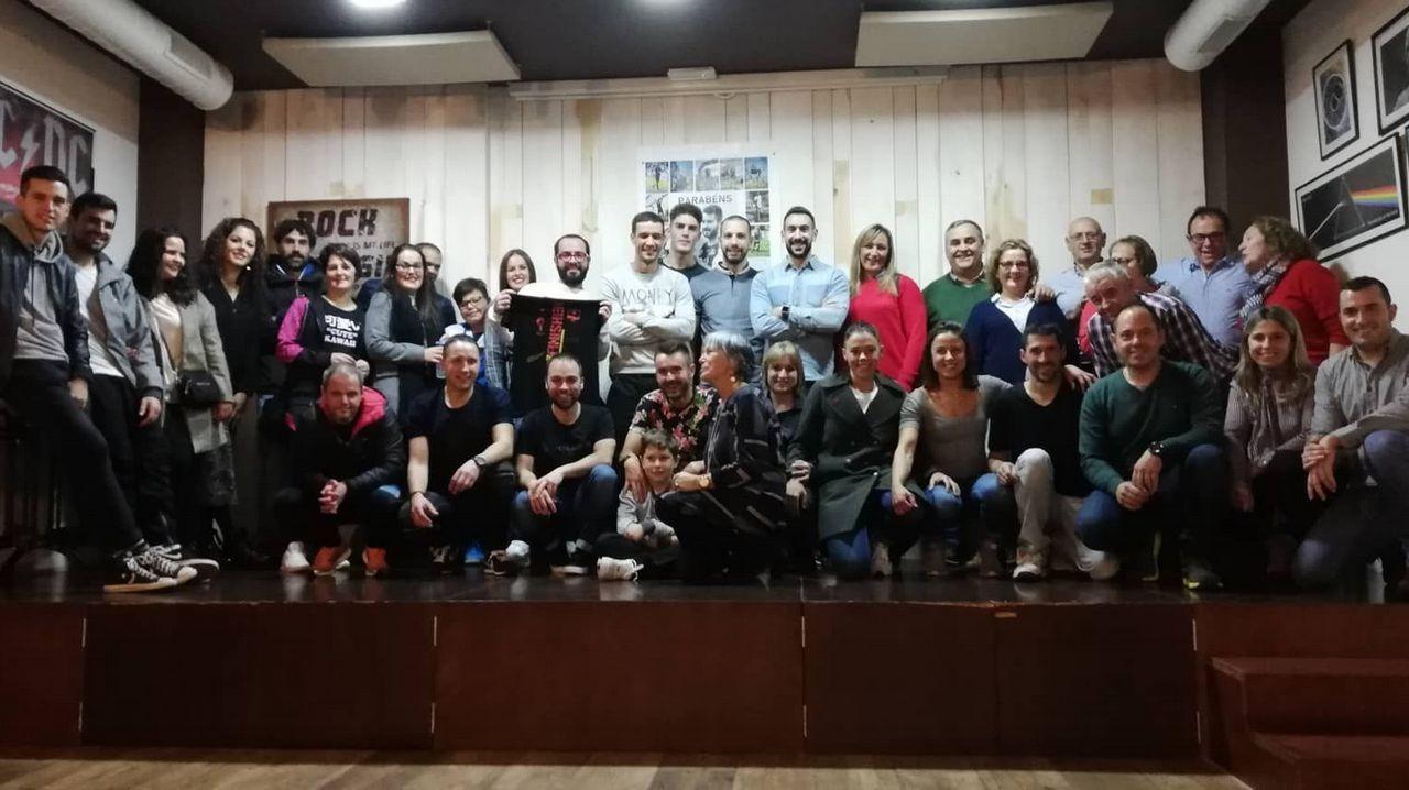 La recepción oficial a Damián Espasandín, en imágenes.Sera en la Casa da Cultura de Vimianzo