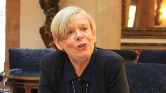 Karen Armstrong, en el hotel de la Reconquista