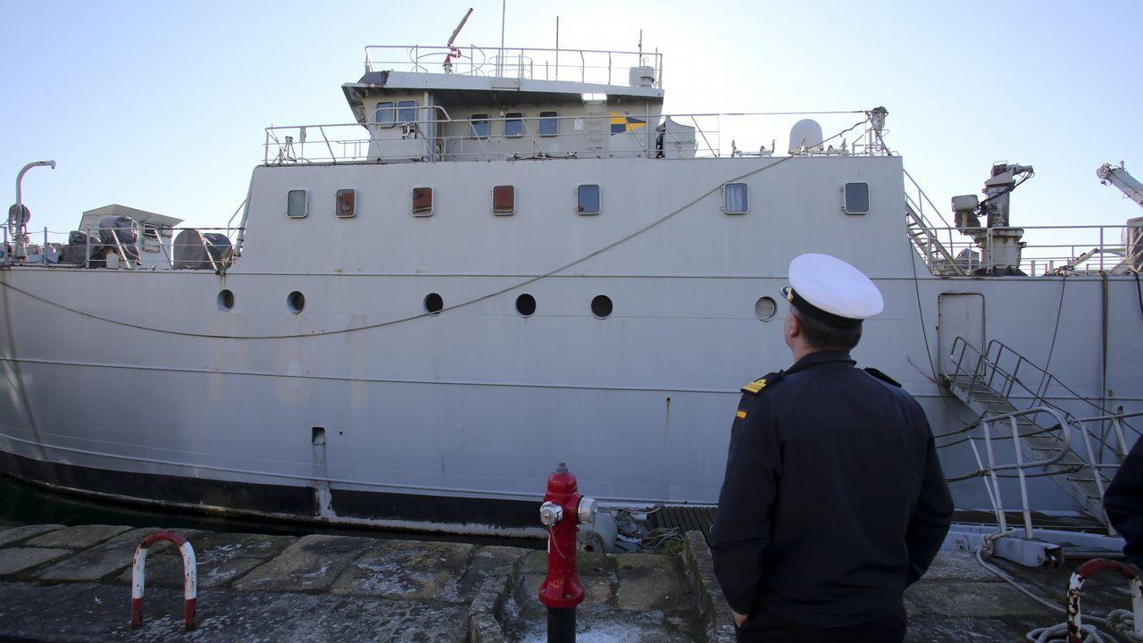 Viaje a las entrañas de un patrullero de la Armada española