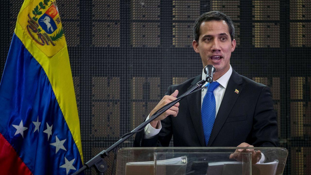 Juan Guaidó evitó hablar de negociación e insistió en el esfuerzo mediador de Noruega