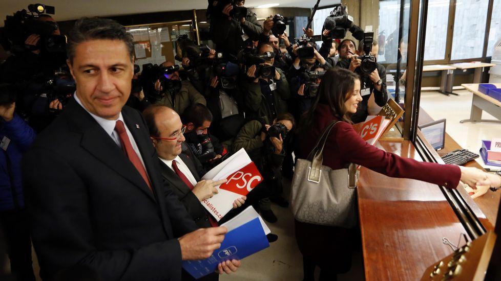 Ciutadans, PSC y PP piden amparo al Constitucional frente a la resolución independentista.