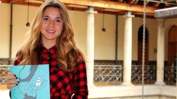Soraya Calvo con su trabajo «Nuevos modelos de comunicación en parejas jóvenes»
