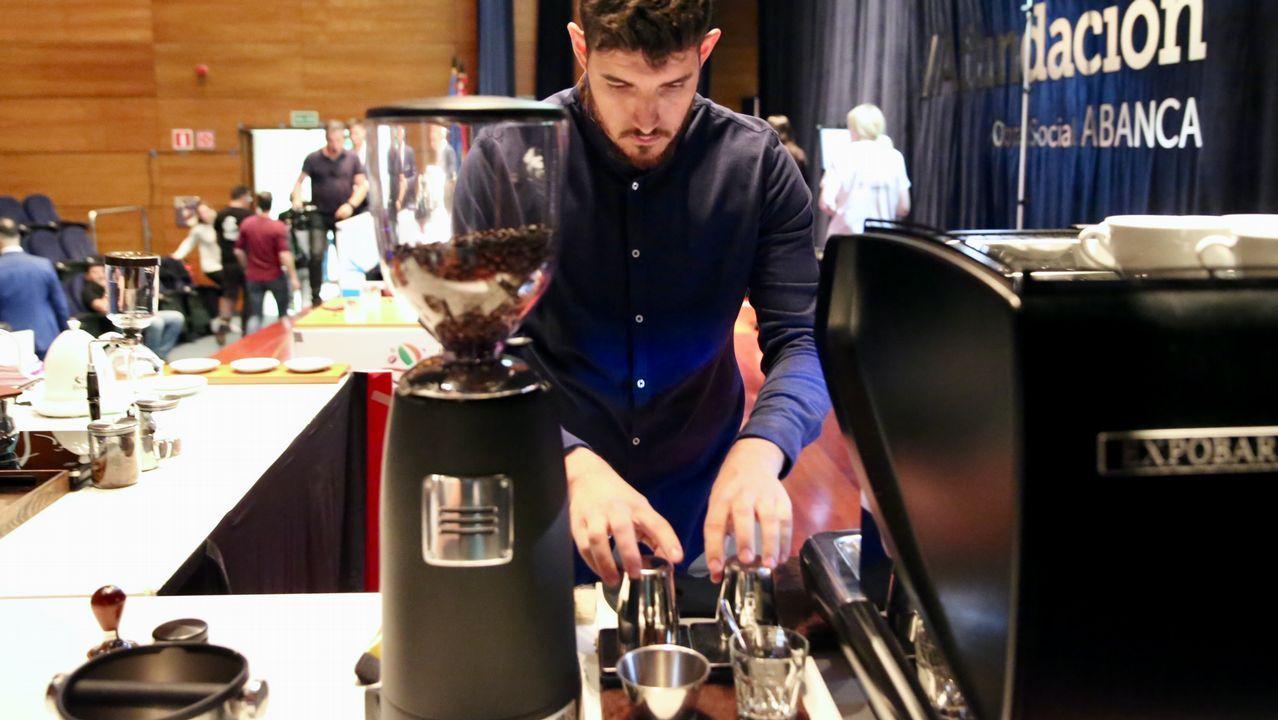Los mejores baristas de España se citan en Vigo