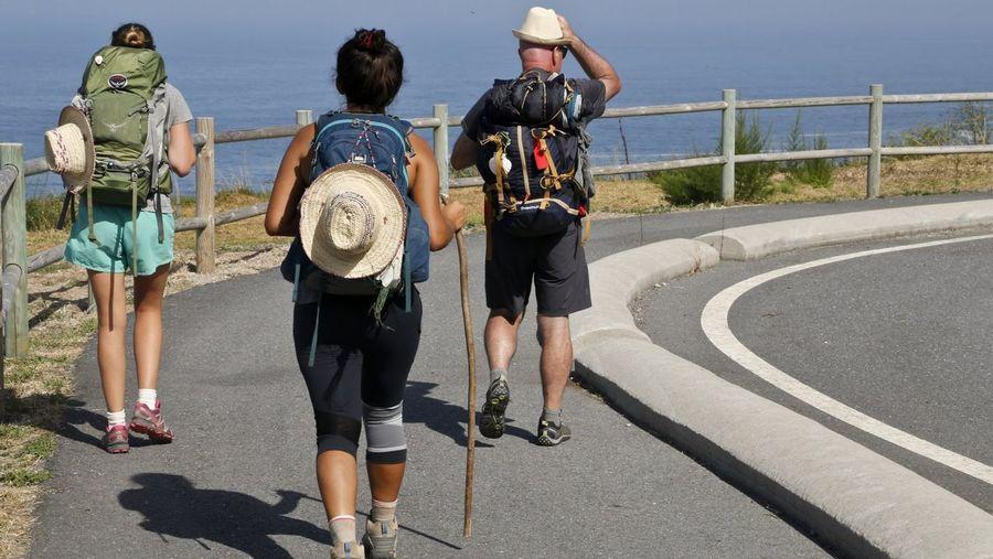 El Camino Portugués por la Costa crece un 174 % en solo un año