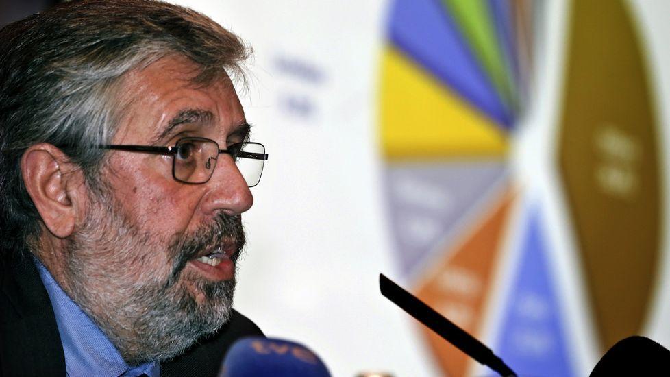 Fernando Vieira, director del aeropuerto de Oporto, en Vigo