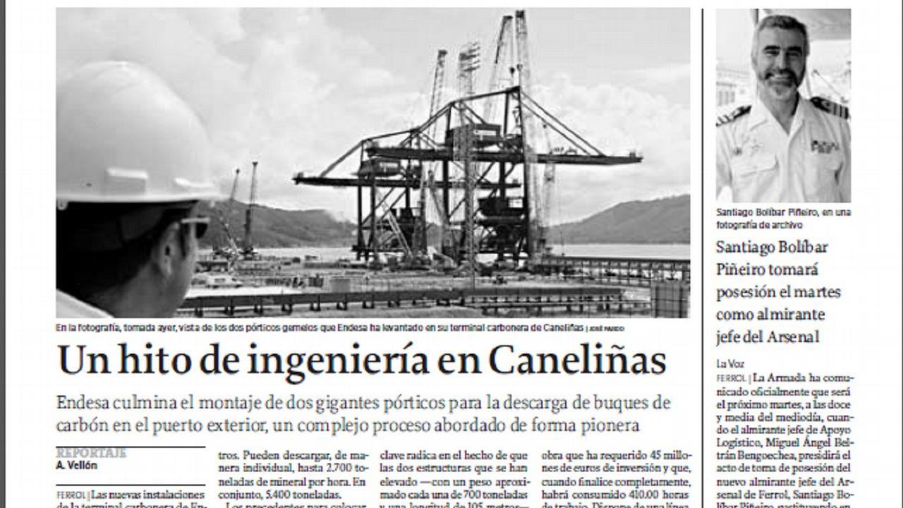 Ferrol-As Pontes: la ruta del carbón.Sede de EDP en Oviedo