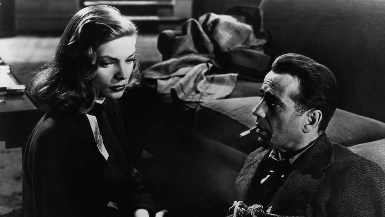 .El rostro de Marlowe. Fotograma del filme de Howard Hawks «El sueño eterno», en el que Humphrey bogart encarnó al detective privado Philip Marlowe, asocaido ya para siempre al rostro del mítico actor neoyorquino.