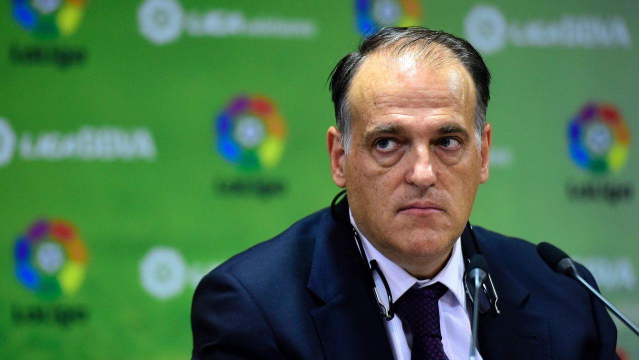 «Quizá Lete sembró confusión en cuanto a su postura sobre Villar».Javier Tebas, candidato a la presidencia de la LFP