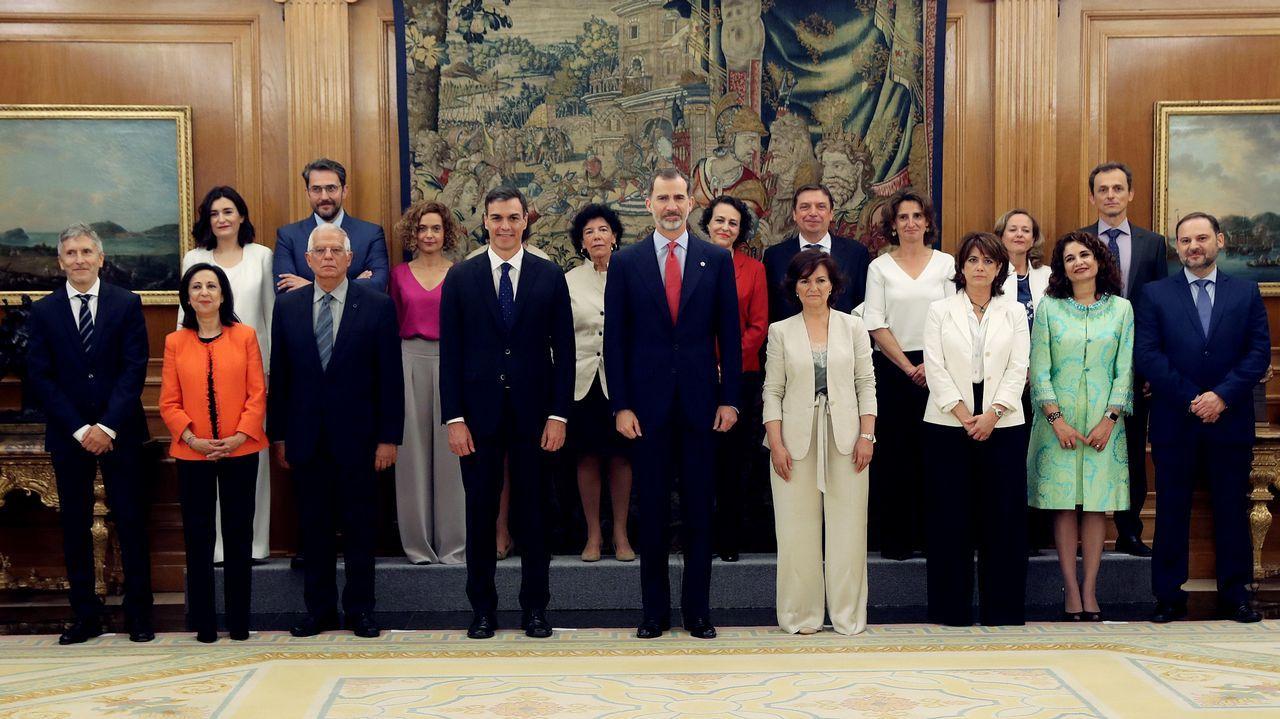 Primeras palabras de los nuevos ministros: estas son sus intenciones.