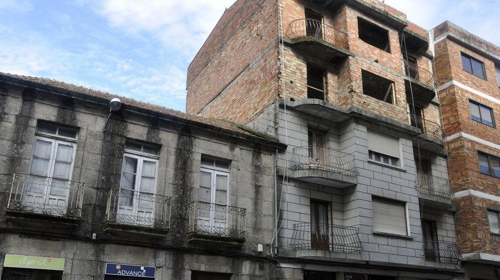 Ejemplo de feísmo en una calle de Vigo.