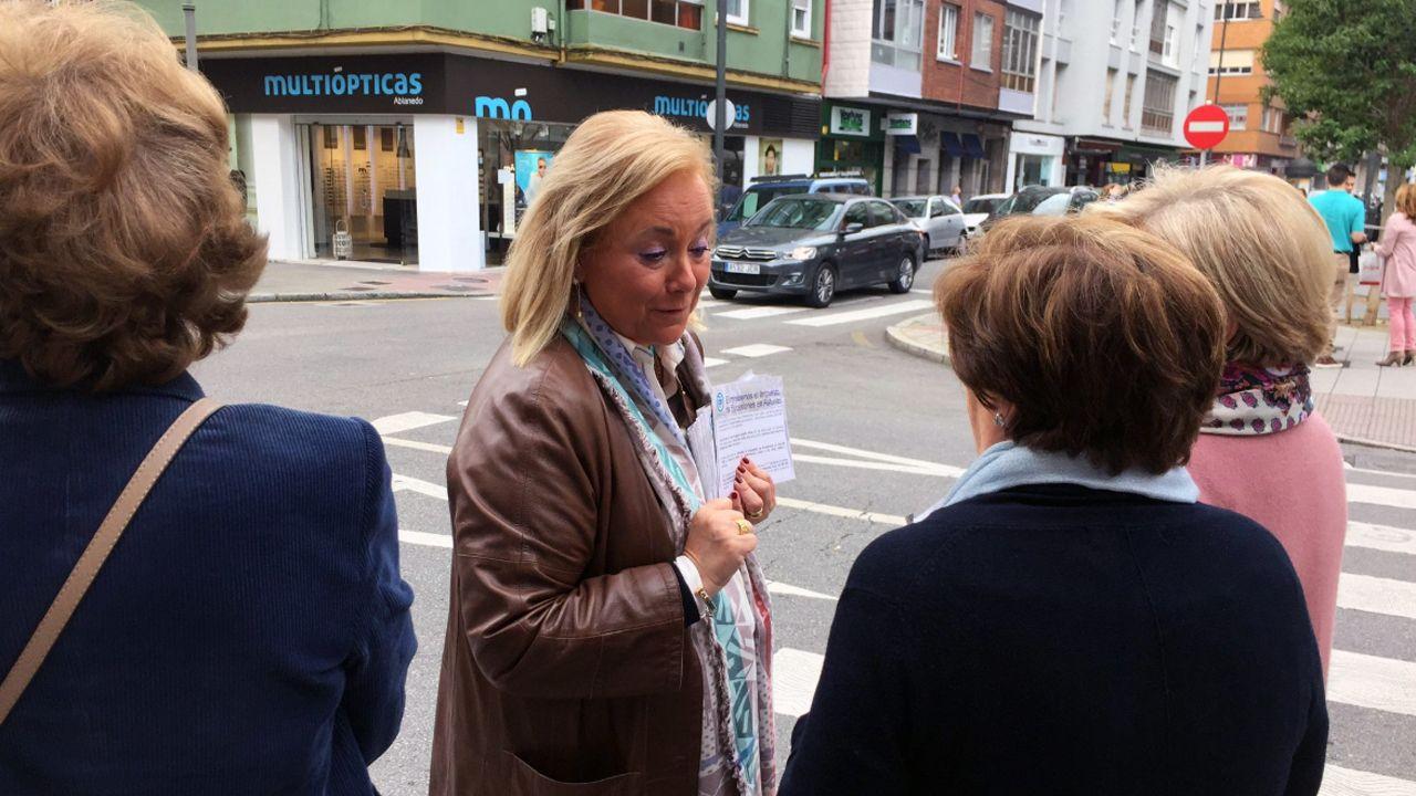 Mercedes Fernándes en Avilés