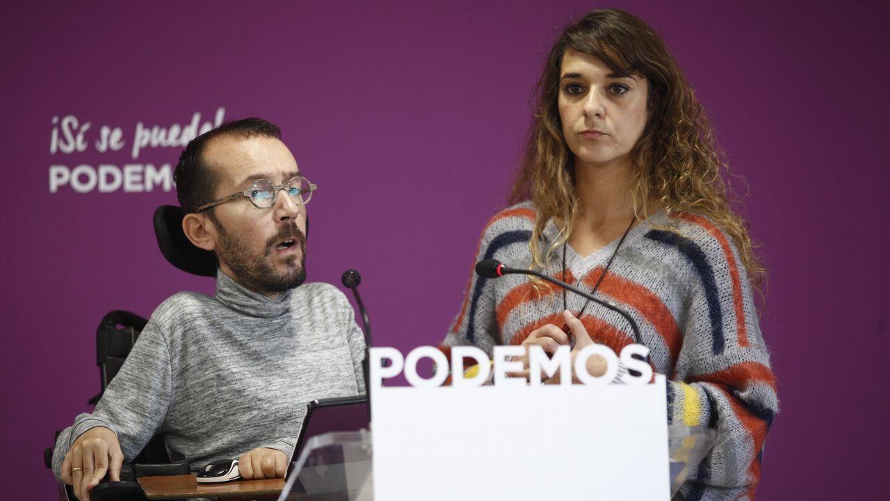«Hay que asumir que puede haber elecciones muy pronto».Ramón Argüelles y Alberto Garzón