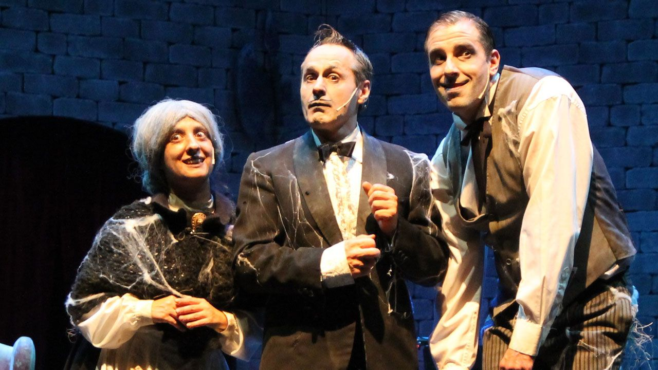 «Terrore ma non troppo o la maldición de Villa Lucrecia», de Higiénico Papel Teatro