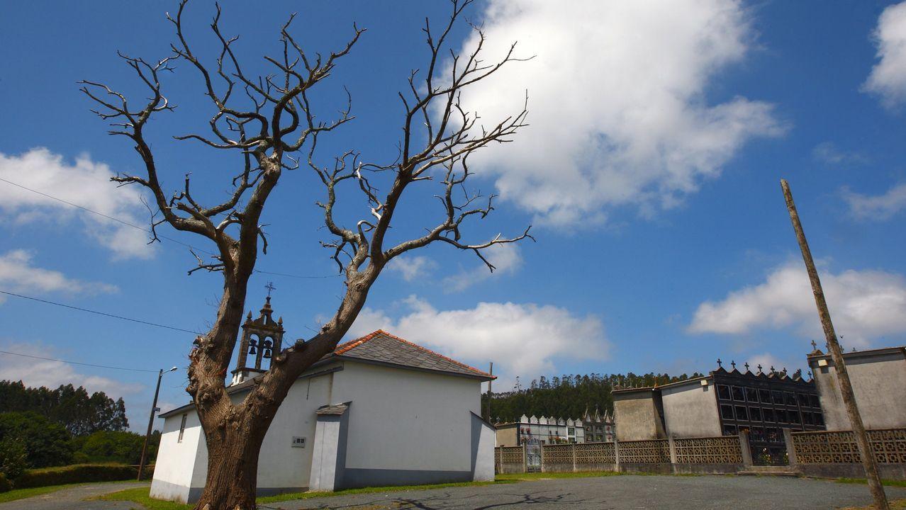 Monasterio de Caaveiro. Levantado en plenas Fragas do Eume, del conjunto arquitectónico destacan los restos románicos y barrocos.