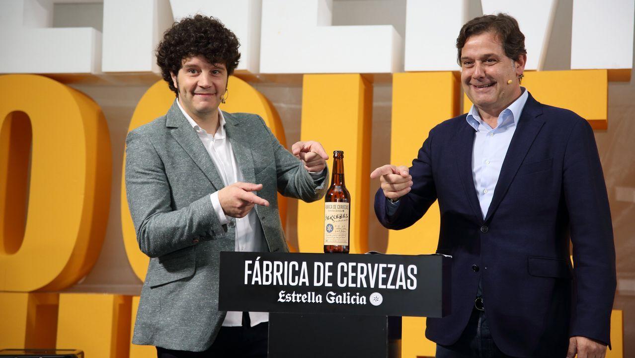 Así fue la presentación de la nueva Estrella Galicia con Percebes da Costa da Morte: ¡mira el álbum!