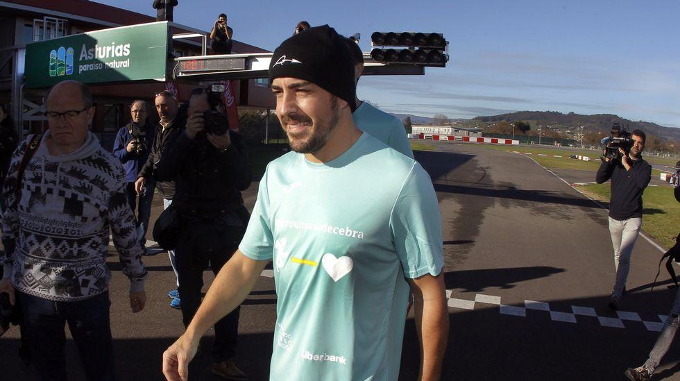 Alonso, esta Navidad en Asturias