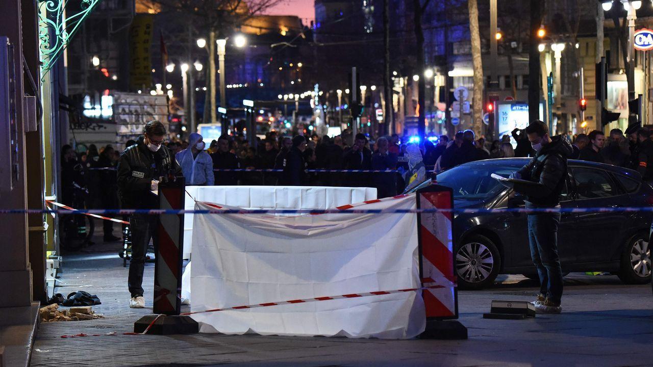 El ataque se produjo en pleno centro de Marsella