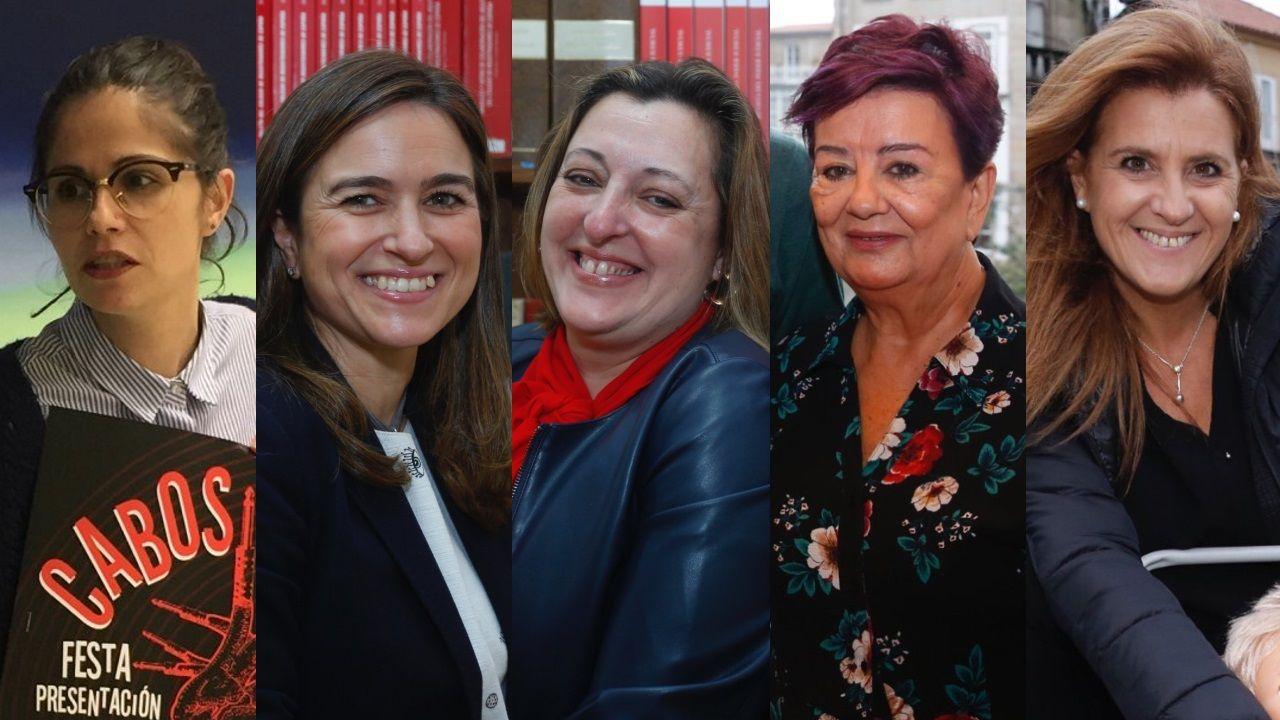 candidatas nuero 2 listas electorales pontevedra