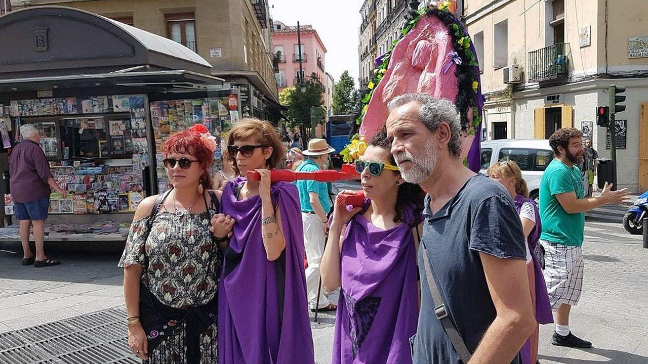 Toledo con la procesión del Coño Insumiso