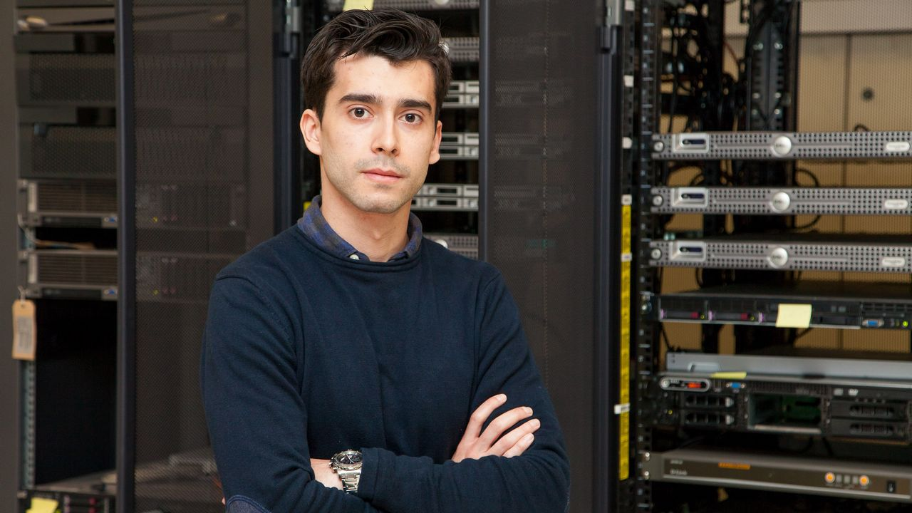David Vilares fue alumno y ahora investigador de la UDC