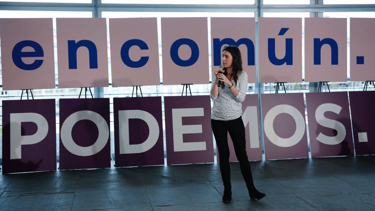 Irene Montero: «Qué son las cloacas del estado, sino un mecanismo para garantizar que votáis bien».Alberto Pozas, en una imagen de archivo