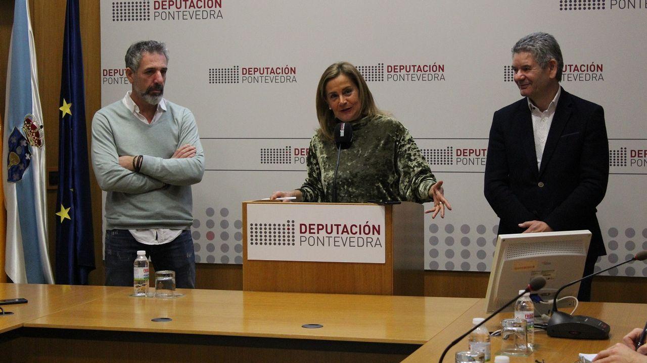 Cae una red que introducía pasta de coca por Marín para procesarla en un laboratorio en Valencia.Salida de la primera etapa de la V Regata Interclubes de la Ría de Pontevedra