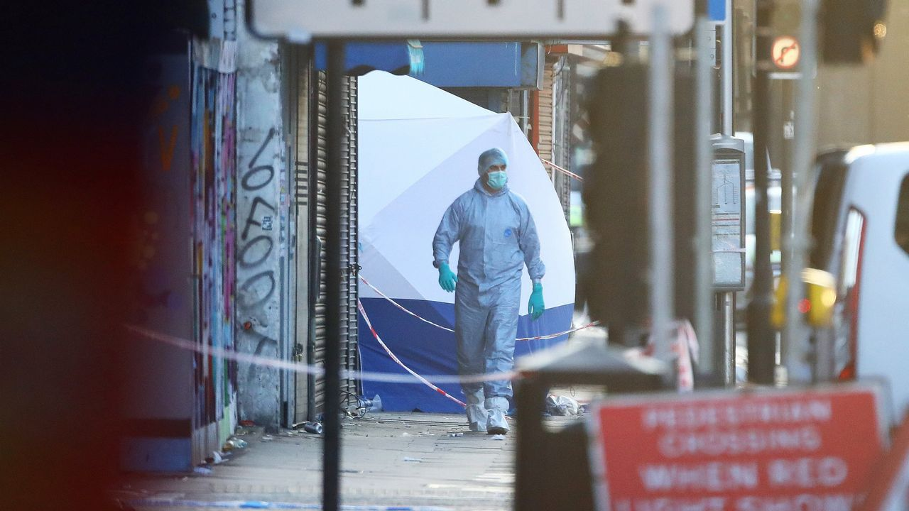 Ataque terrorista a las puertas de una mezquita de Londres