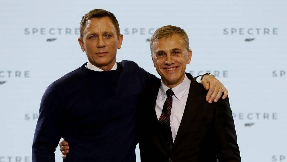 Estreno mundial de «Spectre».Daniel Craig y Christoph Waltz, protagonistas de la película