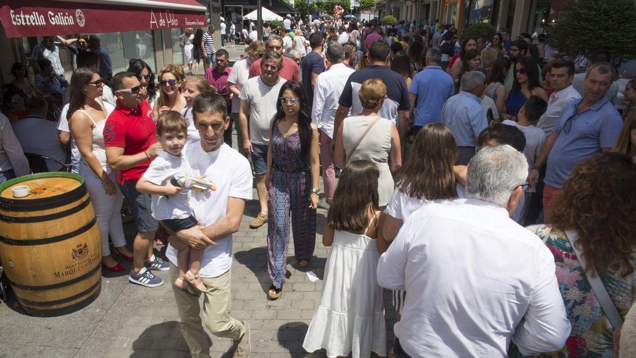 El día grande del San Xoán de Carballo, en imágenes.