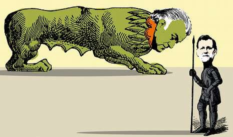 <span lang= es-es >«Todo el mundo a la</span><span lang= es-es > </span><span lang= es-es >??vía catalana??»</span>. Trece diputados y senadores de CDC, ERC, PNV, BNG (Rosana Pérez, con camiseta rosa) y Amaiur respaldaron ayer ante el Congreso la cadena humana por la independencia.