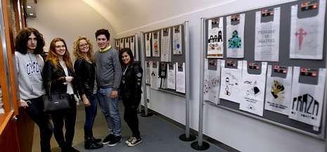 Los alumnos de Mestre Mateo exponen sus diseños en la Plaza de Abastos hasta el 15 de junio.