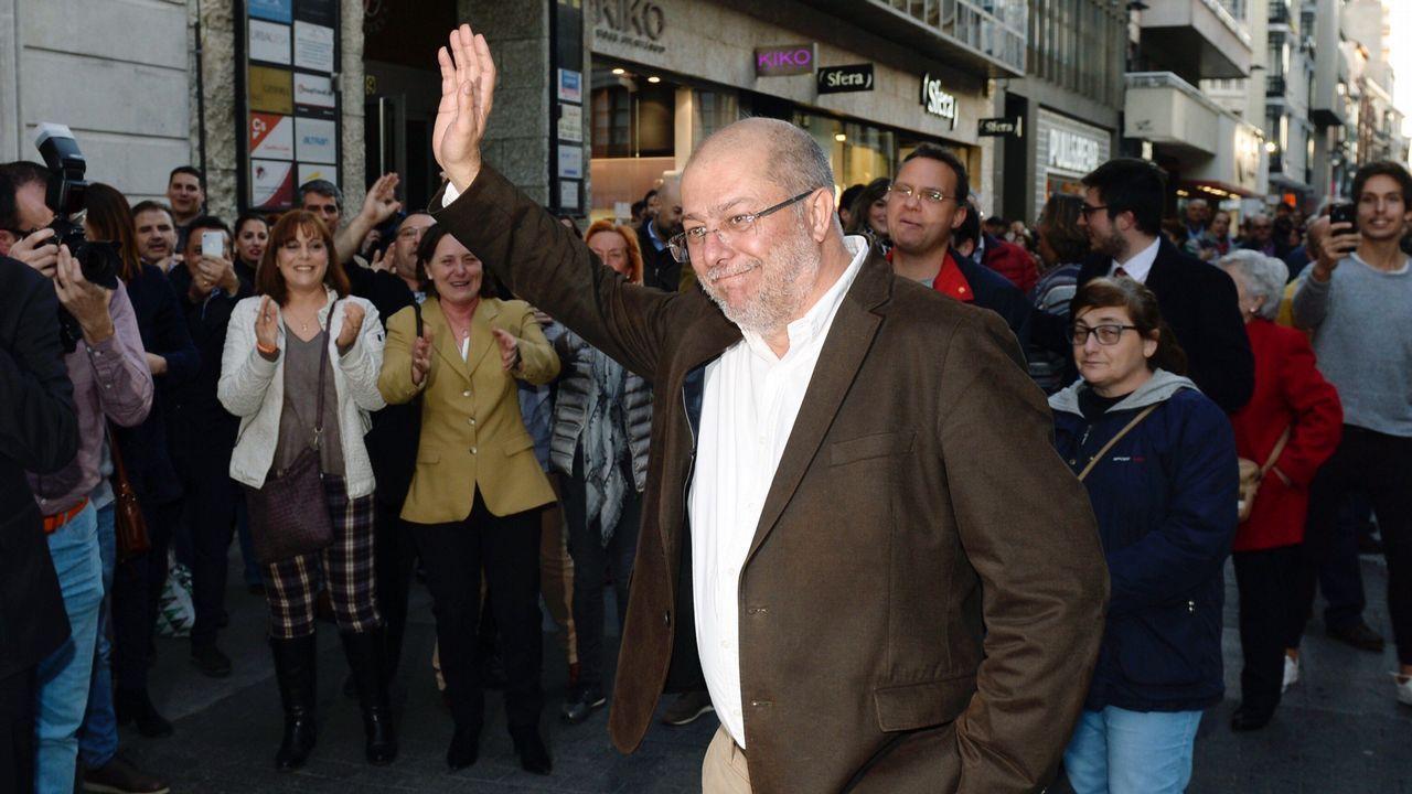 Ciudadanos cierra la crisis en Castilla y León sin un culpable.El diputado de Ciudadanos y nuevo presidente del partido en Castilla y León, Francisco Igea
