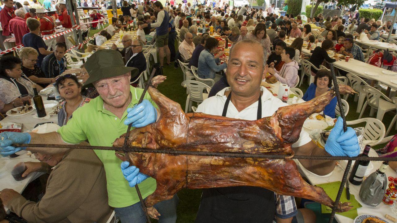¡Recorre en imágenes la Festa do Cochiño de Cerceda!