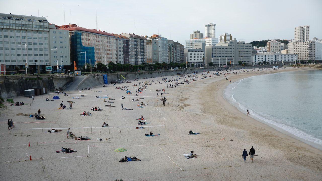 Así cambiaron las playas a lo largo de la noche de San Juan