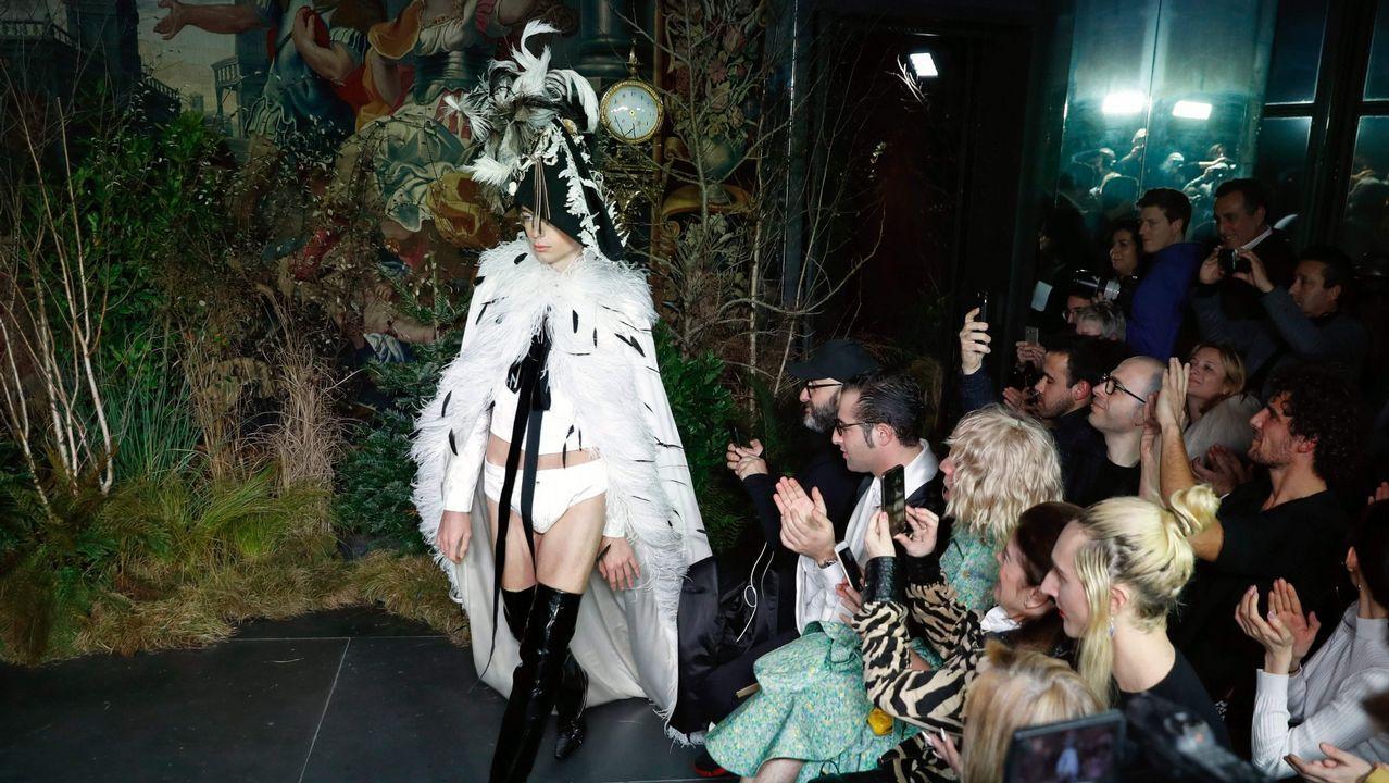 Los diseños que Palomo Spain presentó en la Semana de la Moda de Paris