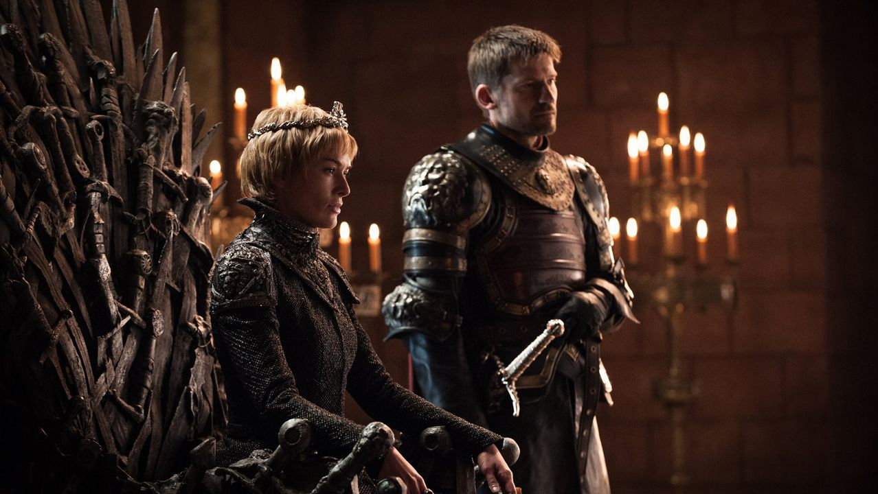 Batalla entre los Dothraki y los Lannister.Randyll Tarly, Jaime Lannister y Bronn en el episodio 7x04 de Juego de Tronos